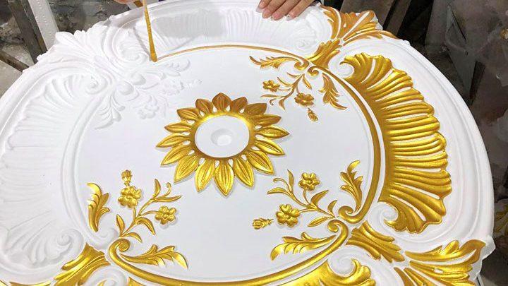 Chuyển giao công nghệ sơn nhũ vàng